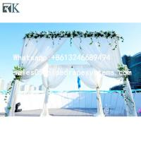 Buy cheap Stand pipe drape systems Wall stage Backdrop Indoor Outdoor Wedding Tent from wholesalers
