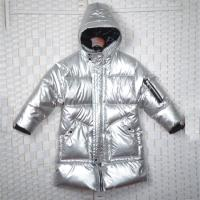 Buy cheap Water Repellent Sustainable Padded Down Jacket , Silver Reflective Thermolite Jacket product