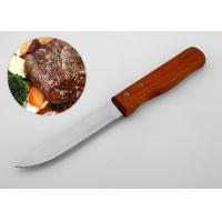 Buy cheap 4.5 Inch Sharp Straight Edge Steak Knives OEM Acceptable With Rivets Shank product