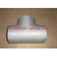 Buy cheap Stainless Steel Tee ASTM A234 GR WPB , ST37.2 , ST35.8Din 1.4301 , 1.4306 , 1.4401 , 1.4571 from wholesalers