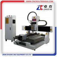 Buy cheap China small metal engraving machine with air cooling spindle,TBI ballscrew ZK-6060 product