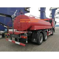 Buy cheap Sinotruk HOWO7 High Pressure 4000 Gallon Water Spray Truck , LHD 6X4 Construction Water Tank Trucks from wholesalers
