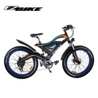 Buy cheap Top Quality folding electric bike fat tire 20 x 4.0 bafang 500w from wholesalers