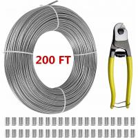 Buy cheap T316 Stainless Steel 1/8 Aircraft Wire Rope For Cable Railing Kits 200 FT from wholesalers