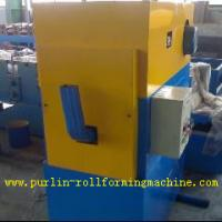 Buy cheap Custom Automatic Downpipe Elbow Machine / Downspout Cold Roll Forming Machine from wholesalers
