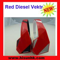 Buy cheap New hot red monster Diesel Vektr headphones by monster with cheap price from wholesalers