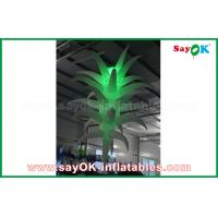 Buy cheap 3mH Colorful Inflatable Decorations Party / Event Inflatable Flower 190T Oxford Cloth from wholesalers