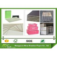 Buy cheap Strong stiffness Grey Chip Board for making Refugees House / bookcover from wholesalers