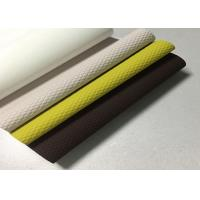 Buy cheap PU Coated Splits Leather Release Paper Customized Soft Type Multi Color from wholesalers