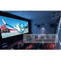 Buy cheap 10 Persons 5D Cinema Equipment With Genuine Leather Motion Chair product