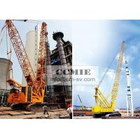 Buy cheap Mobile Hydraulic XCMG Crawler Crane Construction Machinery With Heavy Light Boom from wholesalers