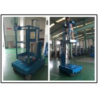 Buy cheap Single Person Aerial Vertical Mast Lift Reliable GTWZ3-1003 For Supermarket from wholesalers