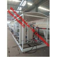 Buy cheap 2018s cheapest price 25m3 mobile skid lpg gas refilling plant with double scales for sale, skid-mounted lpg gas station from wholesalers