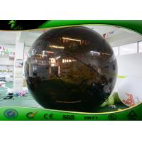 Buy cheap Globe Shape Black Inflatable Helium Balloon 3m For Advertising / Promotion Activity from wholesalers