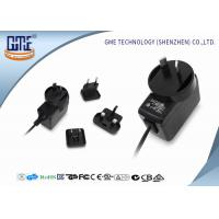 Buy cheap Interchangeable Type Desktop 12v Power Adapter UL FCC GS CE RCM Approved from wholesalers