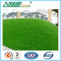Buy cheap 50mm Filed Green Natural Artificial Turf Grass For Garden / School / Backyard from wholesalers