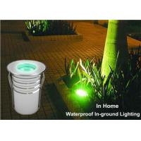 Buy cheap 3W Single Color Stainless Steel LED Light For Step Stair Square Garden from wholesalers