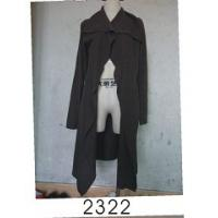 Buy cheap Black Wool / Acylic Womens Knitted Long Cardigan With Nice Design For Autumn from wholesalers