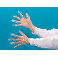 Buy cheap Foldable Soft Clear Plastic Disposable Gloves / Plastic Cooking Gloves Eco Friendly from wholesalers