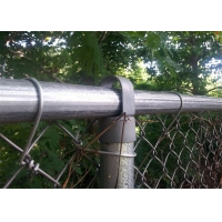 Buy cheap 3.76mm - 50x50mm PVC coated chain link fence from wholesalers
