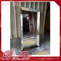 Buy cheap Stainless steel mirror salon furniture hairdresser wall mounted white modern salon station product