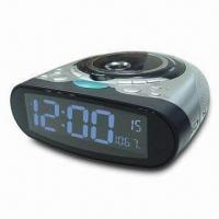 Buy cheap CD Clock Radio with 9-Digit LCD Display and Auto Power Off Function from wholesalers