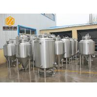 Buy cheap Double Wall Bright Beer Tank 500L Top Manhole With CE Certificated from wholesalers