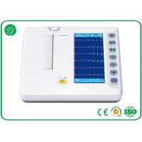 Buy cheap Digital Electrocardiograph Portable ECG Machine 6 Channel Format Recording from wholesalers