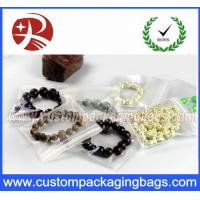 Buy cheap Transparent Clear EVA PVC Resealable Custom Packaging Bags Jewelry Bags With Waterproof from wholesalers