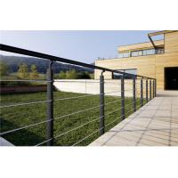 Buy cheap Stainless steel fence cable stair post railing hand railing from wholesalers
