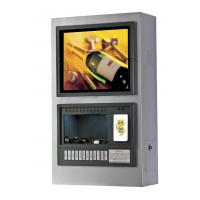 Buy cheap Multimedia Wall Mounted Advertising Cell Mobile Phone Charge Kiosk Stations from wholesalers
