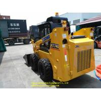 Buy cheap 0.45m3 Mini Skid Steer Loader XCMG XT740 Operating Weight 3130kg Save Space from wholesalers