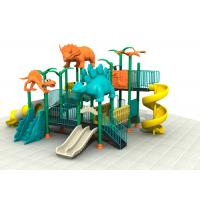 Buy cheap Dinosaur Style Kids Outdoor Playground Equipment With Brilliant Colors 24CBM from wholesalers