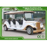 Buy cheap White 6 Seats Electric Classic Cars AE Approved Classic Car Golf Carts from wholesalers