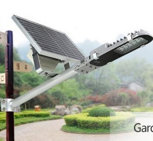 Buy cheap Cool White Solar Street Lights , 20W Solar Panel Street Lamp Free Maintenance product