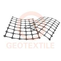 Buy cheap Durable Retaining Wall Reinforcement Grid , High Strength Geogrid Reinforcing Fabric product