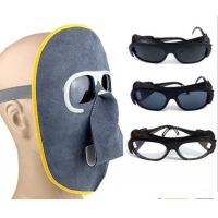 Buy cheap 0.5ms Response Cowhide Glasses Anti Impact Shade 12 Arc Welding Lens product