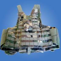 Buy cheap level 3 anti bullet police vest with insert bulletproof armor plates pocket from wholesalers