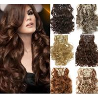 Buy cheap 100% Unprocessed Brown Clip In Hair Extension Real Indian Virgin Hair from wholesalers