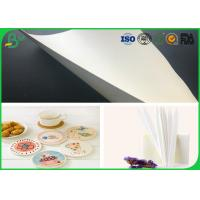Buy cheap 0.8mm 1mm 1.2mm white roll  drinking paper / absorbent paper for  cup mat from wholesalers