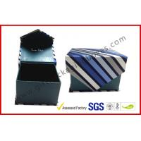 Buy cheap Magnetic Grey Board Apparel Gift Boxes With Silk Cloth Covering , Tie / Perfume / Jewelry Boxes from wholesalers