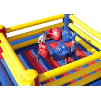 Buy cheap Indoor Playground Inflatable Sports Games Bouncy Wrestling Ring Jumper For Kids from wholesalers