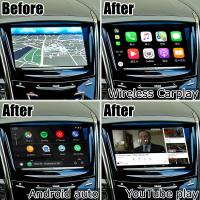 Buy cheap Durable Multimedia Video Interface Cadillac Ats Seamless Wireless Carplay Cue System from wholesalers