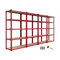 Buy cheap European style 5 tier garage shelving unit boltless shelving from wholesalers