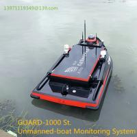 Buy cheap GUARD-1000ST Unmanned-boat Monitoring System Water quality rendering system Detection and analysis system from wholesalers