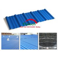 Buy cheap TRAPEZOIDAL PVC CORRUGATED ROOF SHEET MAKING MACHINE / ROOF TILE EQUIPMENT / PVC CORRUGATED ROOF TILE PRODUCTION LINE from wholesalers