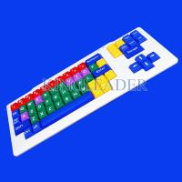 Buy cheap Children's learning style color keyboard with large keys K700 from wholesalers