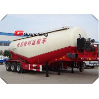 Buy cheap Tri Axle Bulk Cement Tank Trailer With WEICHAI Engine Diesel Engine ISO CCC product