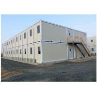 Buy cheap EPS Neopor Fireproof Conex Box Homes / prefab shipping container homes from wholesalers