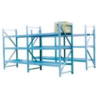 Buy cheap Light duty metal storage shelf for warehouse from wholesalers